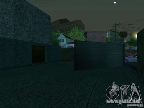 Cafe de Andreas para GTA San Andreas quinta pantalla