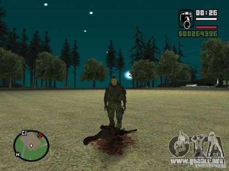 Chupacabra para GTA San Andreas octavo de pantalla