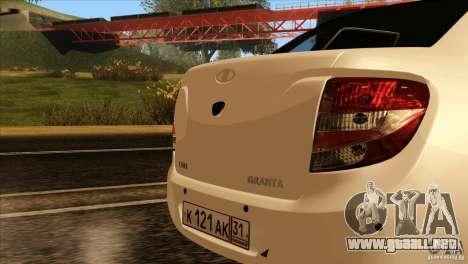 Grant 2190 VAZ para visión interna GTA San Andreas