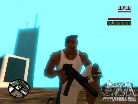 Gangster Weapon Pack para GTA San Andreas séptima pantalla