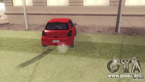 Suzuki Swift version Chilena para GTA San Andreas left