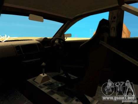Mitsubishi Lancer Evolution X Time Attack para la vista superior GTA San Andreas
