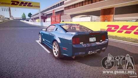 Saleen S281 Extreme - v1.1 para GTA 4 Vista posterior izquierda