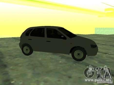 LADA 1119 Kalina Hatchback para GTA San Andreas vista posterior izquierda