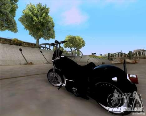 Harley Davidson FXD Super Glide para GTA San Andreas left