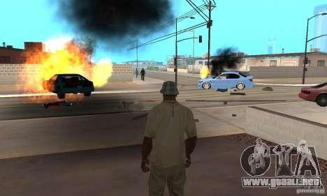 Hot adrenaline effects v1.0 para GTA San Andreas séptima pantalla
