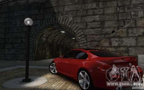 BMW M6 2010 v1.4 para GTA 4 vista hacia atrás