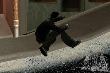 Nuevas animaciones 2012 para GTA San Andreas sucesivamente de pantalla