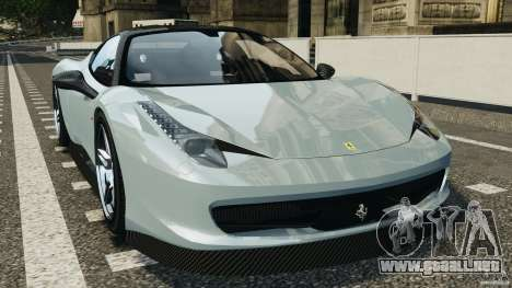 Ferrari 458 Italia 2010 [Key Edition] v1.0 para GTA 4