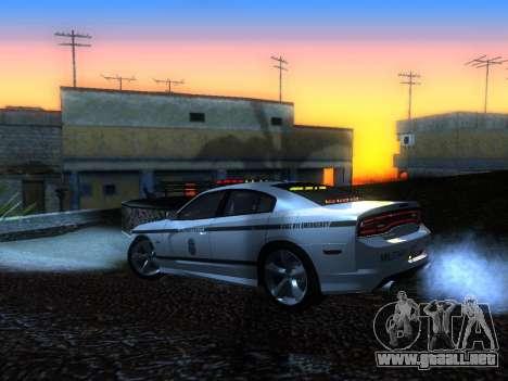 Dodge Charger SRT8 Police para GTA San Andreas left