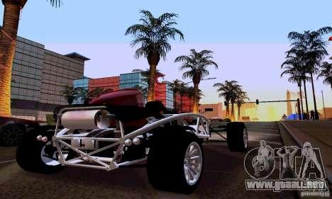 Ariel Atom para GTA San Andreas vista posterior izquierda