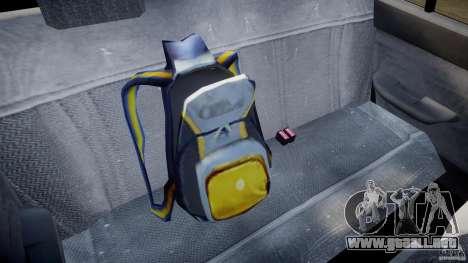 Mercury Tracer 1993 v1.0 para GTA 4 vista desde abajo
