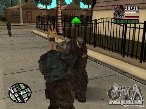 Lokast Theron guardia para GTA San Andreas quinta pantalla