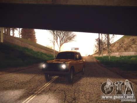 ENB v2 by Tinrion para GTA San Andreas segunda pantalla