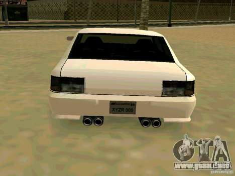 New Sultan v1.0 para visión interna GTA San Andreas