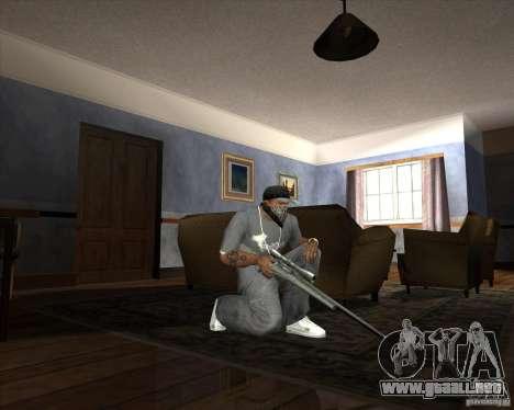 Jarra Mono Arsenal v1.2 para GTA San Andreas twelth pantalla