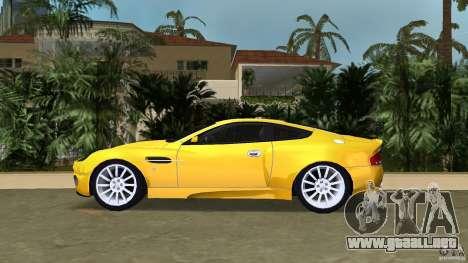 Aston Martin V12 Vanquish 6.0 i V12 48V v2.0 para GTA Vice City left