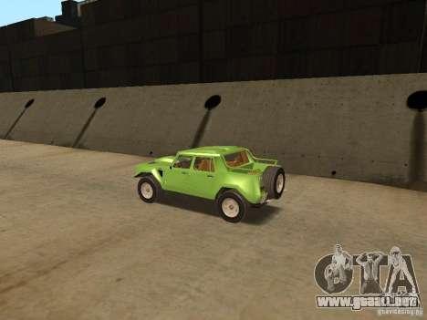 Lamborghini LM-002 v2 para la visión correcta GTA San Andreas