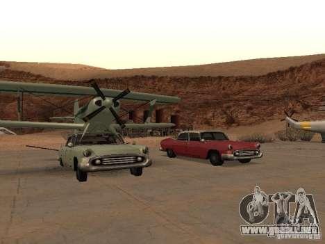 Auto-avión para GTA San Andreas left