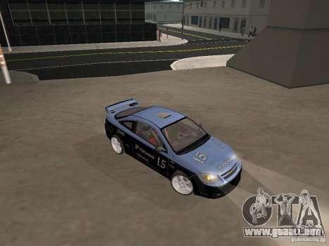 Chevrolet Cobalt Tuning para GTA San Andreas vista hacia atrás