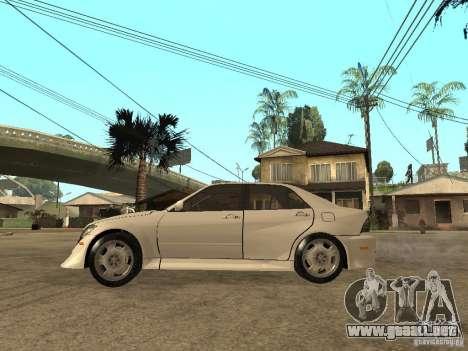 Lexus IS300 NFS Carbon para GTA San Andreas left