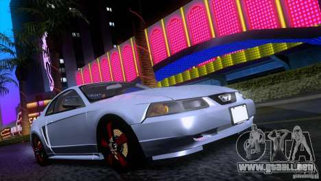 Ford Mustang GT 1999 para GTA San Andreas left