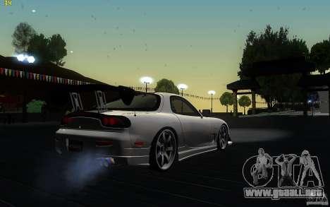 Mazda Rx7 C-West para la visión correcta GTA San Andreas