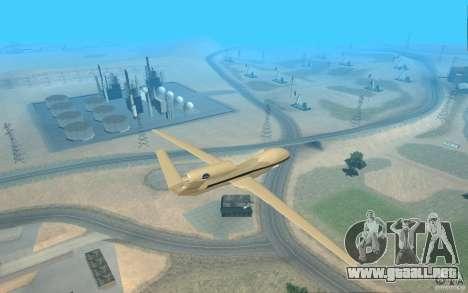 Grumman RQ-4 para GTA San Andreas left