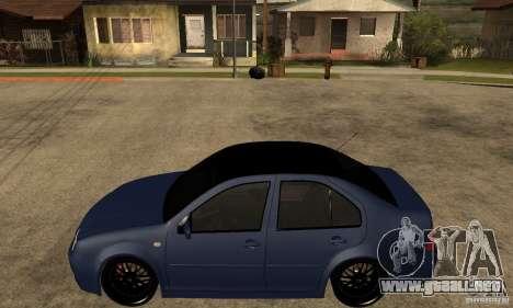 Volkswagen Bora para GTA San Andreas left