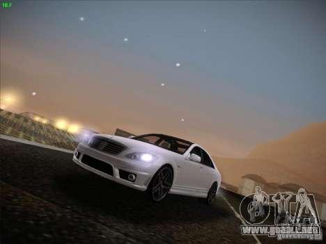 Mercedes-Benz S65 AMG V2.0 para GTA San Andreas