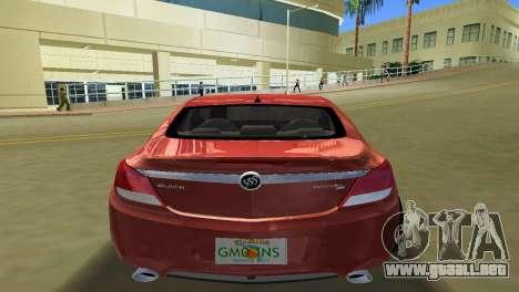 Buick Regal para GTA Vice City visión correcta