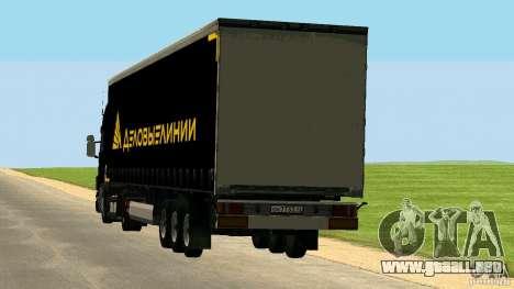 Scania 114L para la visión correcta GTA San Andreas