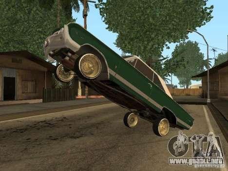 Mercury Park Lane Lowrider para la visión correcta GTA San Andreas