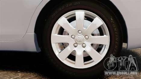 Toyota Camry Altise 2009 para GTA 4