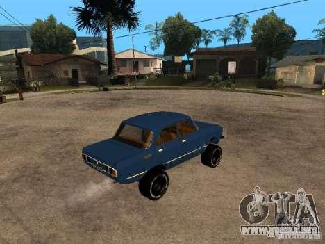 Moskvich 412-4 x 4 para la visión correcta GTA San Andreas