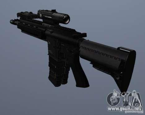 Rifle HK416 para GTA San Andreas quinta pantalla