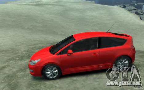 Citroen C4 2009 VTS Coupe v1 para GTA 4 left