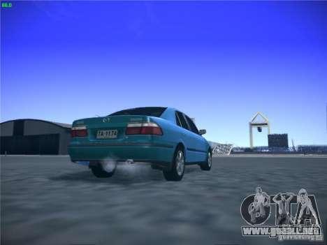 Mazda 626 GF 1999 para visión interna GTA San Andreas