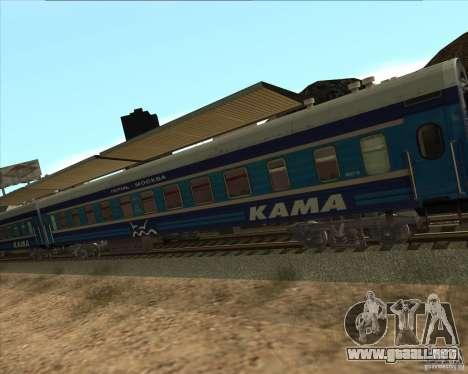 Coche KAMA para la visión correcta GTA San Andreas
