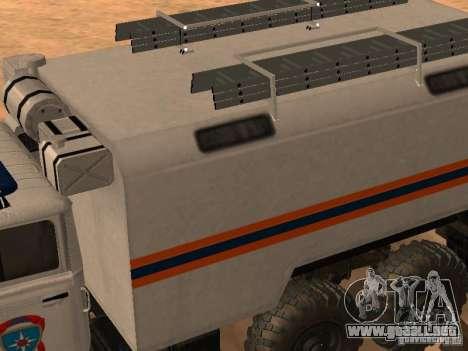 Ural 4320 MOE para la visión correcta GTA San Andreas