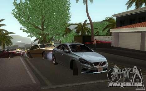 Volvo S60 2011 para la visión correcta GTA San Andreas