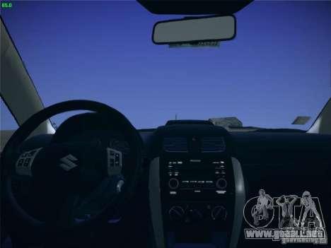 Suzuki SX4 2012 para la visión correcta GTA San Andreas