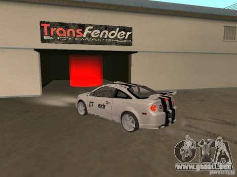 Chevrolet Cobalt Tuning para GTA San Andreas left