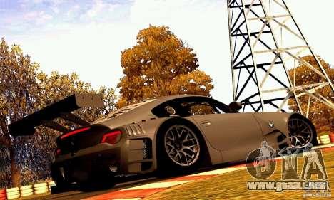 BMW Z4 E85 M GT 2008 V1.0 para visión interna GTA San Andreas