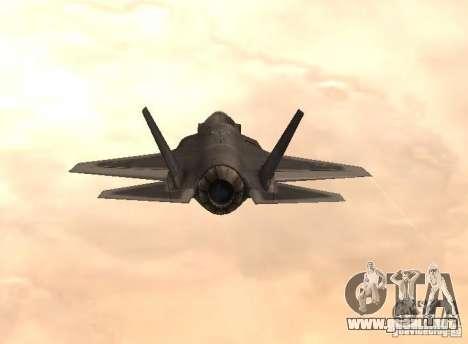 F-35 Eagle para GTA San Andreas left