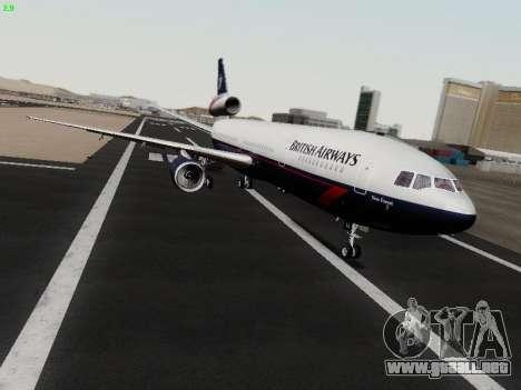 McDonell Douglas DC-10-30 British Airways para GTA San Andreas left