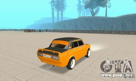 VAZ 2107 Off Road para GTA San Andreas left