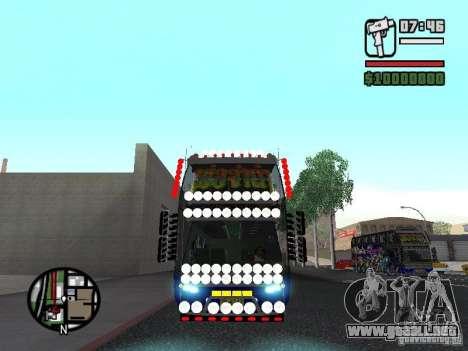 Neoplan para GTA San Andreas left