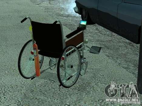 Silla de ruedas manual para GTA San Andreas left