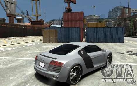 Audi R8 2008 para GTA 4 visión correcta